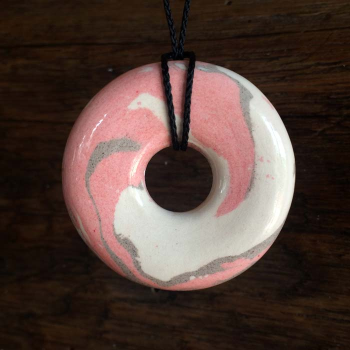 pendentif Pi rose